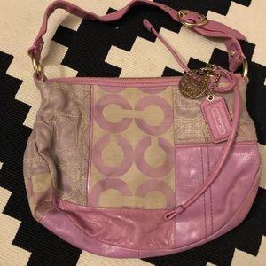 Coach OP Art Patchwork handbag